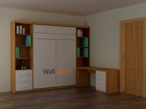 Giường thông minh kết hợp tủ