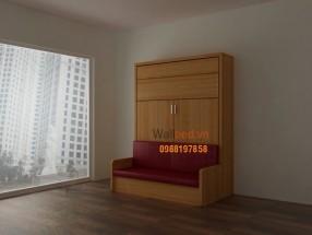 Giường 1,6x2m sofa WBT7