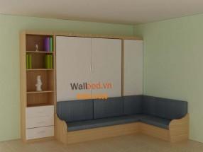 Giường tủ sofa chữ L WBT8