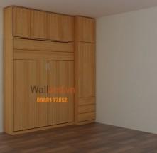 Giường kết hợp tủ quần áo WTB14